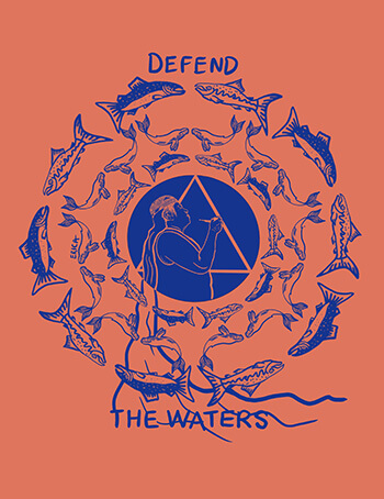 Defend the Waters by Erica Ledesma